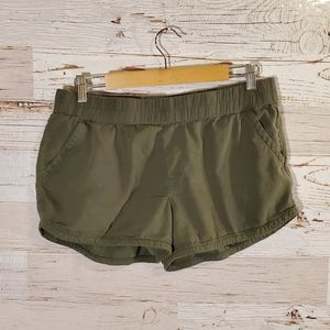 Maurices comfy green shorts